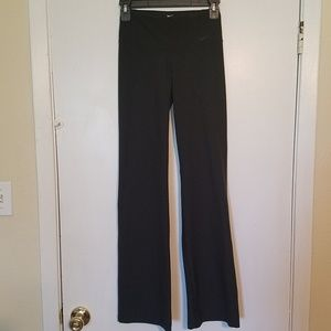 Nike Dri-Fit Yoga Pants XS Bootcut Stretch
